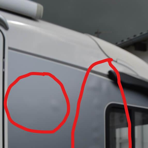 Schadensgutachten Versicherung bei Wohnmobil Carthago